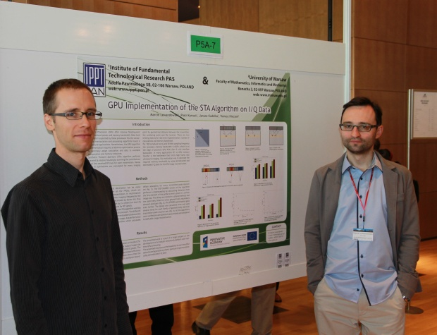 One of our poster presentations